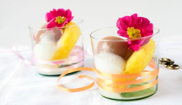 molekulare küche cocktail ananas eier primel