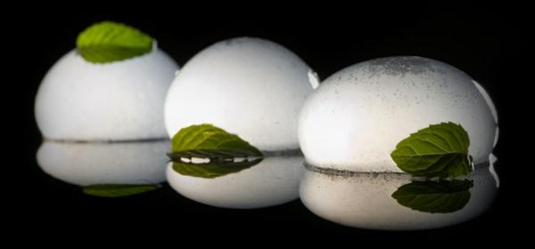 molekulare küche karbonierte mojito sphären