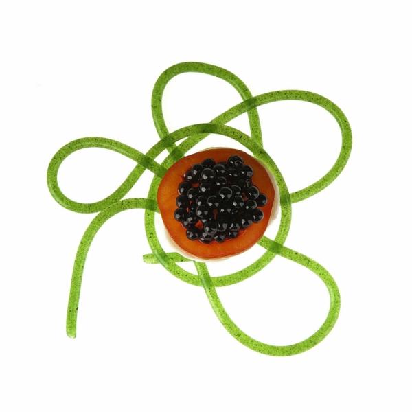 molekulare küche kaviar algen gelee