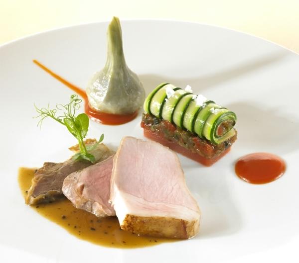 molekulare küche schweine filet gurke