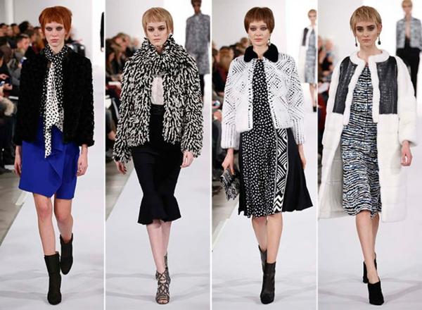 neue modetrends styling tipps muster farben schwarz weiß