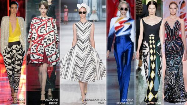 neue modetrends styling tipps muster farben tendenzen
