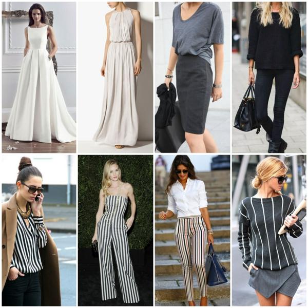 neue modetrends und styling tipps schlankmacher
