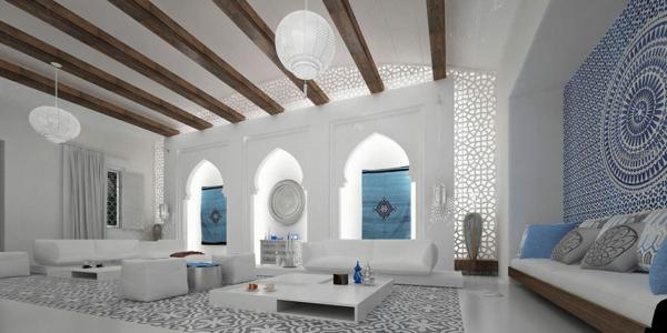 orientalische ornamente fenster arkaden