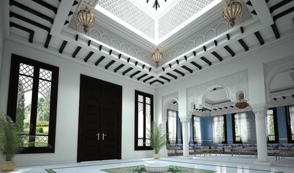 orientalische ornamente marokkanische villa