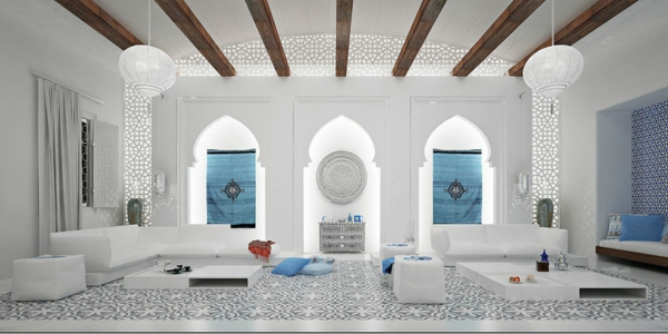 orientalische ornamente mosaik fliesen