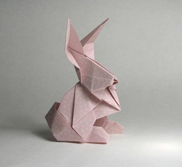 origami hase falten anleitung und inspirierende osterdeko ideen. Black Bedroom Furniture Sets. Home Design Ideas