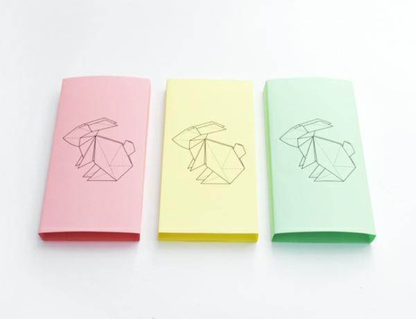 Origami Hase falten Anleitung und inspirierende Osterdeko Ideen[R