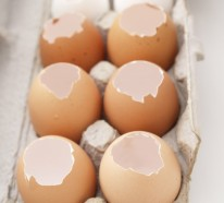 Originelle DIY Osterkerzen aus Eierschalen selber basteln
