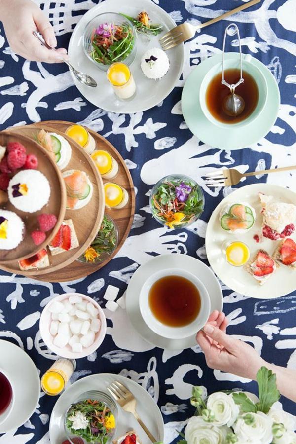 osterideen essen trinken tee party Oh Happy Day