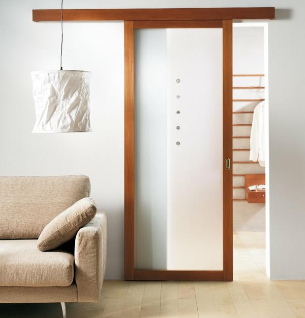 papier lampenschirm elegantes design sofa schiebetür