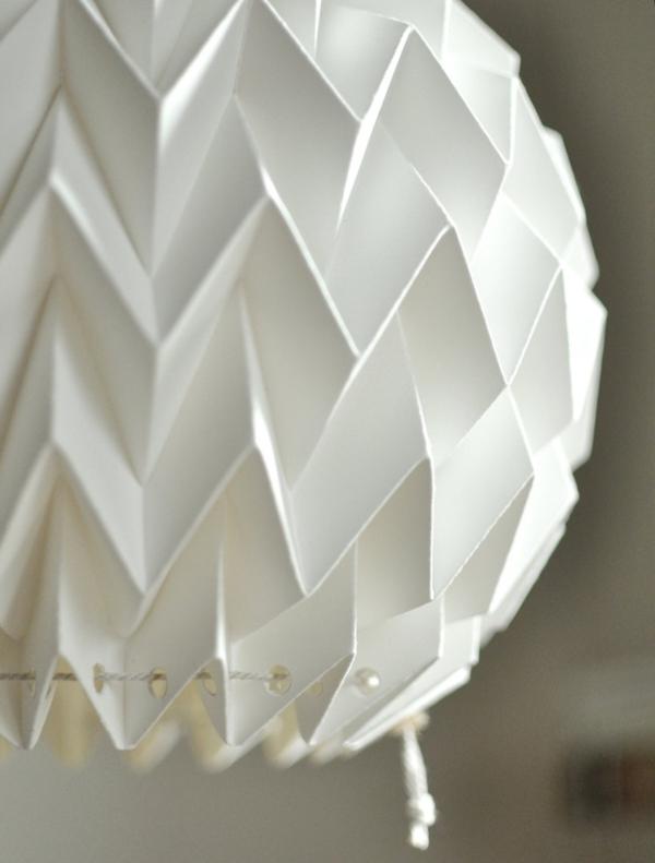 papier lampenschirme origami lampenschirm