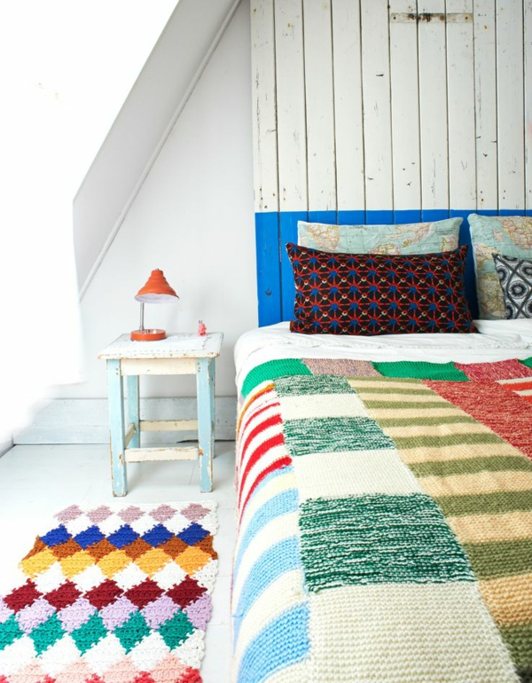 Beautiful Patchwork Tagesdecke Bettuberwurf Schlafzimmer Pictures