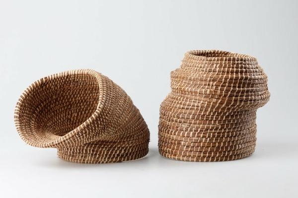 pflanztöpfe deko vasen designs korb