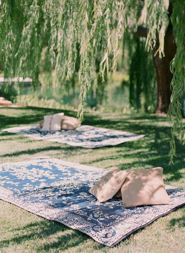 picknickdecke natur freizeit genießen