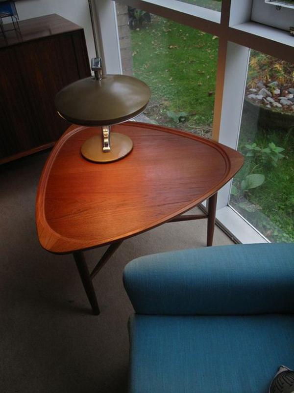 wohnzimmer sessel retro:Couchtisch Vintage Stil für die Wohnzimmerausstattung
