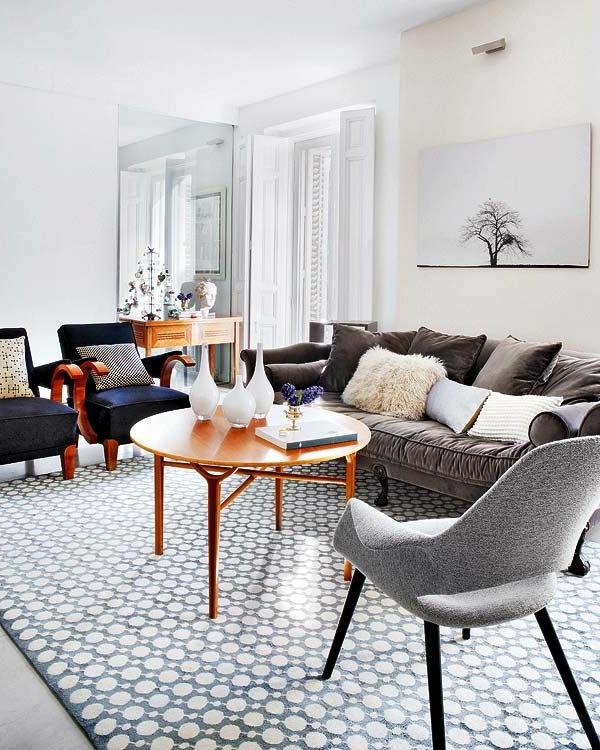retro couchtisch wohnzimmer vintage sessel