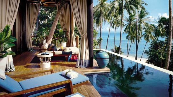 romantik wochenende dedon island resort philippinen pool