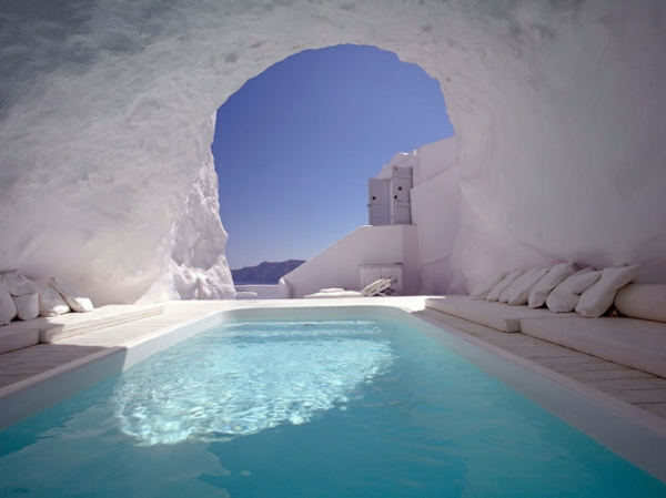 romantik wochenende hotel katikies santorin griechenland