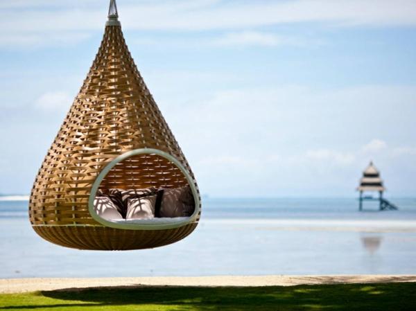 romantik wochenende philippinen hängesitz hotel dedon island resort