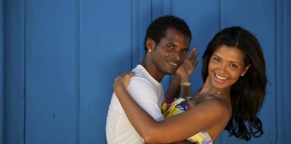 salsa musik hören tanzpaar