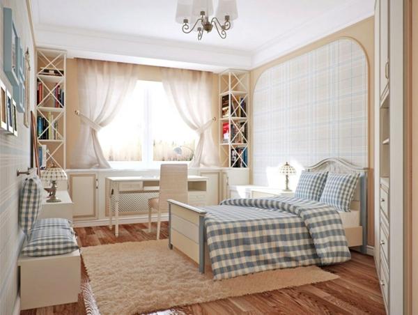 Schlafzimmer Blau Beige ideen fr wandgestaltung schlafzimmer im schwarz und blau wandfarbe grau bett und hocker in Grandios Schlafzimmer Blau Beige Darbietung
