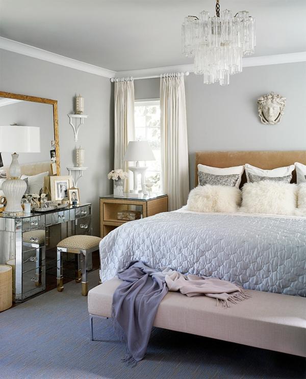 schlafzimmer design elegant blaununcen