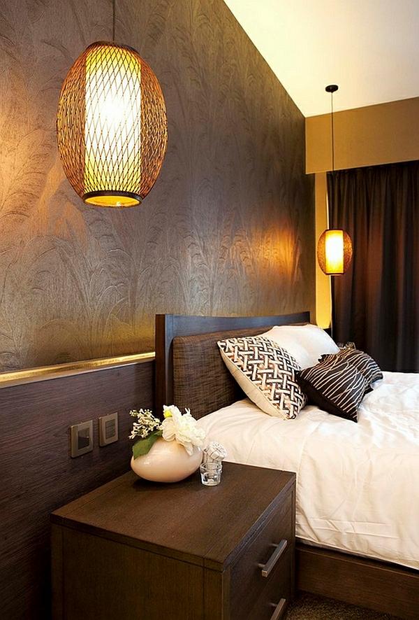 schlafzimmer asia ovale hängeleuchten