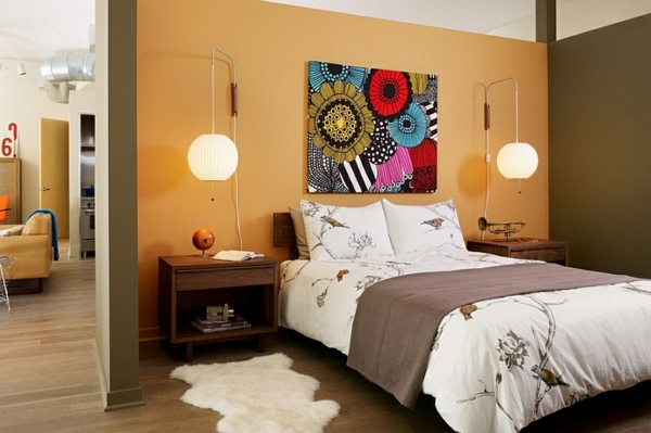 schlafzimmer asia stilmischung
