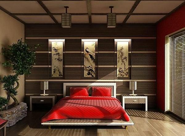 Schlafzimmer In Rot Gestalten U2013 25 Kreative Ideen U2013 Menerima, Schlafzimmer  Entwurf
