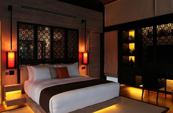 Indisches schlafzimmer gestalten  Schlafzimmer einrichten - entdecken Sie den mystischen Fernen Osten