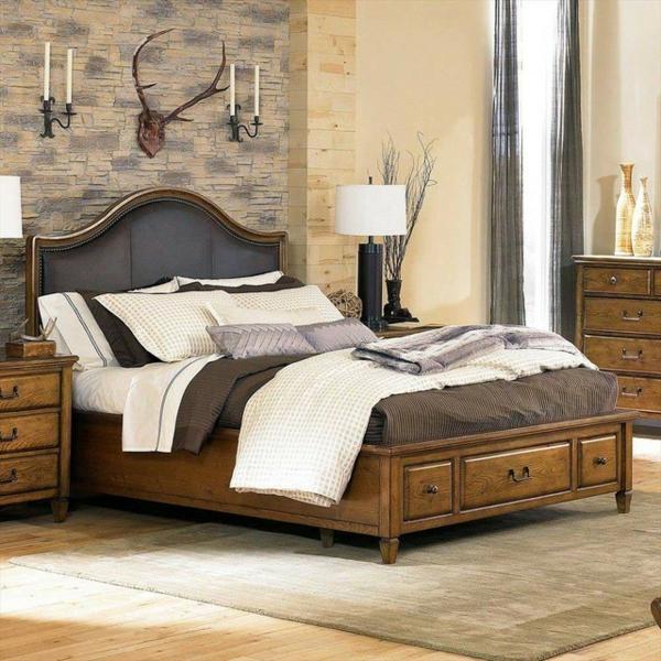 schlafzimmer gestalten schöne wandgestaltung wanddeko