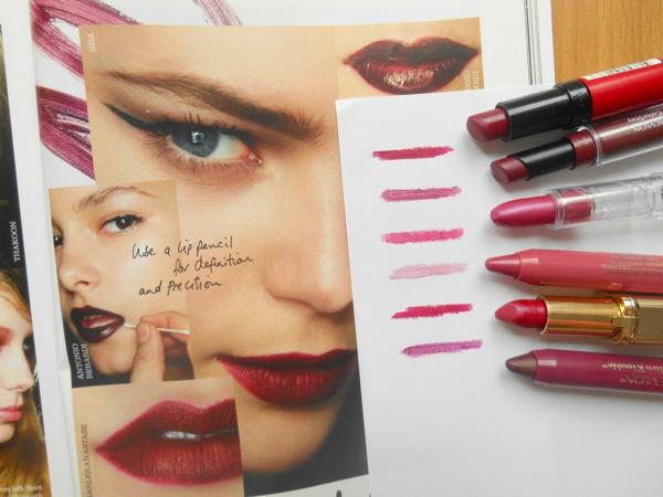 schminktipps lippen lippenstift auswählen rote farbnuancen