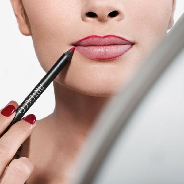 schminktipps lippen lippenstift rot