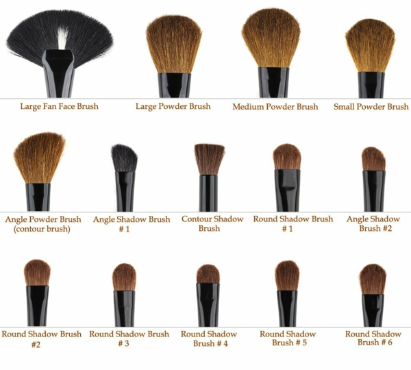 how to make makeup brushes