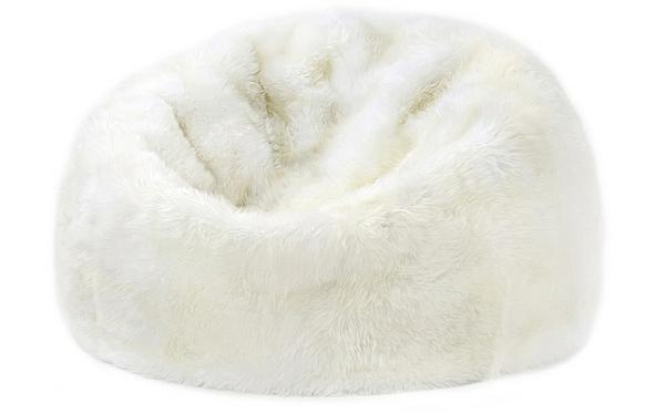 der sitzsack sessel von parker wool weicher luxus aus schafsfell. Black Bedroom Furniture Sets. Home Design Ideas