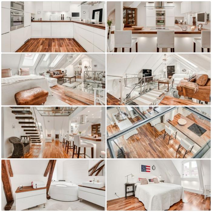 Skandinavisch Wohnen Eine Spektakulare Penthousewohnung In Stockholm