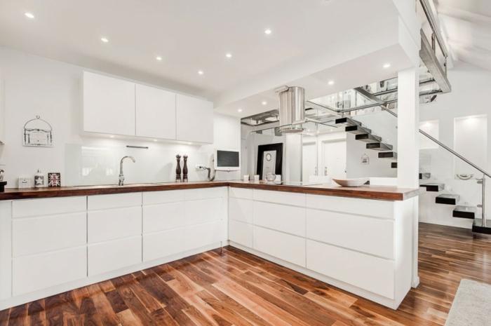 skandinavisch wohnen penthousewohnung küche erdgeschoss