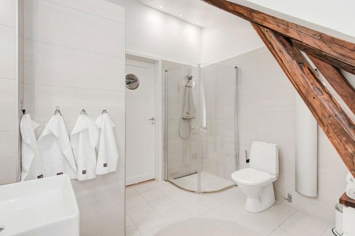 skandinavisch wohnen penthousewohnung stockholm bodengleiche dusche