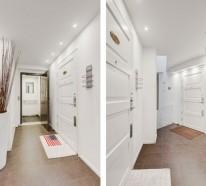 skandinavisch wohnen eine spektakul re penthousewohnung. Black Bedroom Furniture Sets. Home Design Ideas