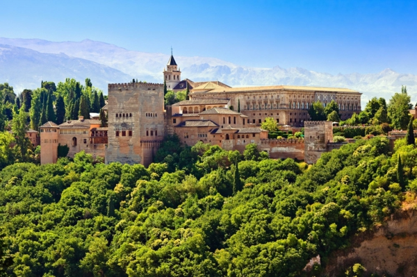 spanienurlaub alhambra granada