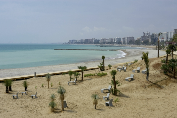 spanienurlaub Benicàssim strand Els Terrers