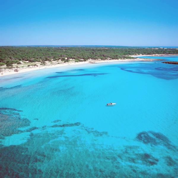 spanienurlaub es trenc strand panorama