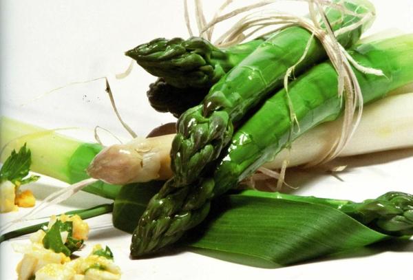 spargel gesund essen rezepte mit spargel frühling spargelsaison