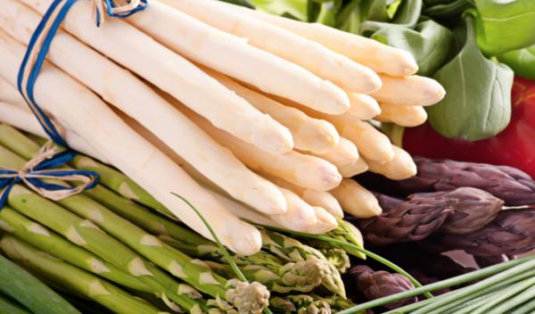 spargel gesund essen spargel arten auf dem markt