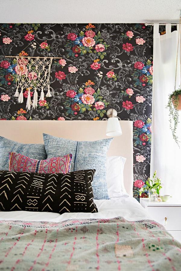 Rosentapete ist eine herrliche Deko für Ihre Wände