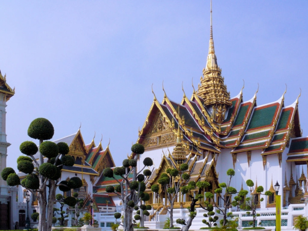 thailandurlaub reisen und urlaub Grand Palace bangkok