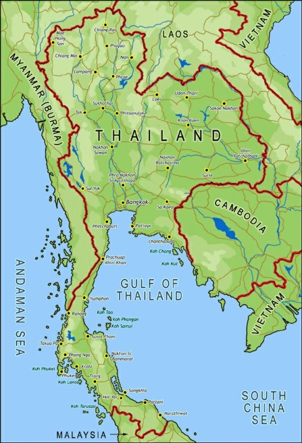 thailandurlaub reisen und urlaub asiatische länder