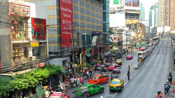 thailandurlaub reisen und urlaub bangkok straßenverkehr