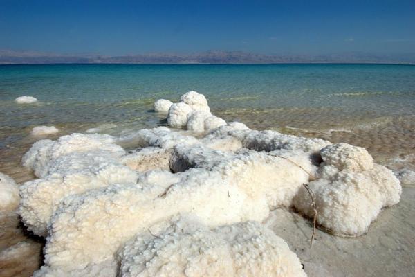 totes meer salz salzkristalle